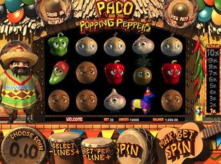 игровой слот Paco and Popping Peppers
